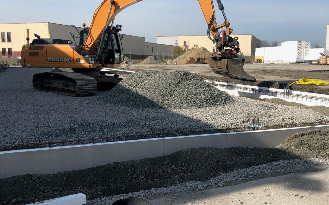 Nu startar vi utbyggnad av padelhallen på Viared