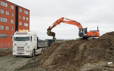 Vi bygger skola för 200 elever i Ystad.